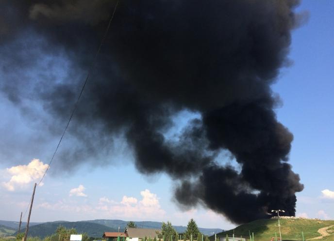 Gyerekek okozhatták a tüzet a gabonatáblában
