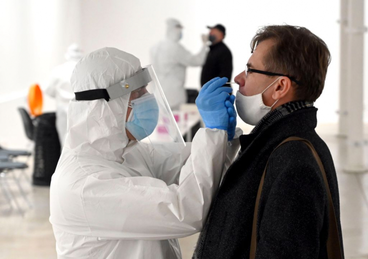 183 koronavírusost szűrtek ki a tömeges tesztelés első napján Kassán