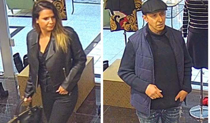 Felismeri őket? Közel 4000 eurós táskát loptak el egy pozsonyi üzletből