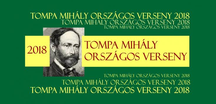Április végén lesz a XXVII. Tompa Mihály Országos Verseny döntője