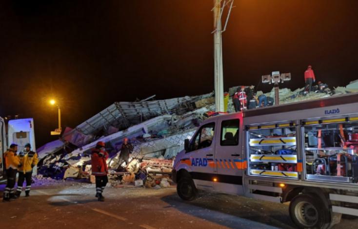 Szlovákiában is érezni lehetett a törökországi földrengést