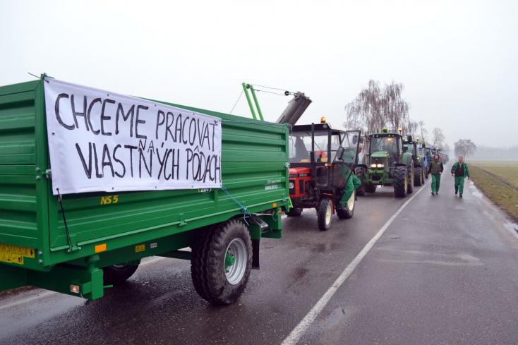 Jövő héten újabb traktortüntetés lesz az országban – Pozsonyba készülnek a gazdák