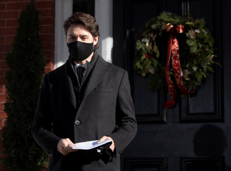 Trudeau szerint jövő szeptemberre a kanadaiak több mint fele be lesz oltva koronavírus ellen