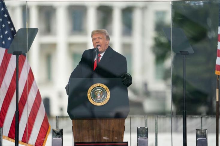 Trump: a múlt heti beszédem teljesen oké volt, boszorkányüldözés áldozata vagyok