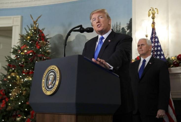 Trump megint szembemegy mindenkivel, Jeruzsálemet ismeri el Izrael fővárosának