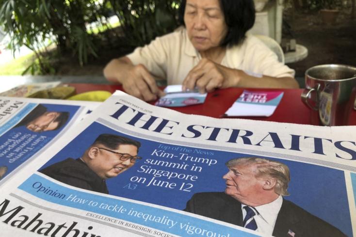 Miért éppen Szingapúrban lesz a Trump-Kim csúcstalálkozó?