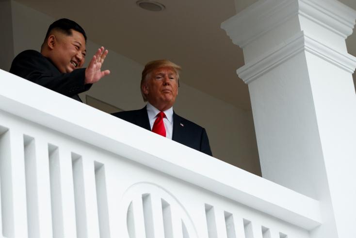 Kim Dzsong Un a Fehér Házban? Miért is ne...