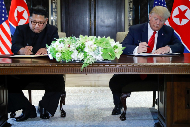 Íme Donald Trump és Kim Dzsong Un szingapúri közös nyilatkozata – szó szerint