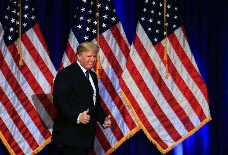 Trump Iránnak üzent egy izmosat