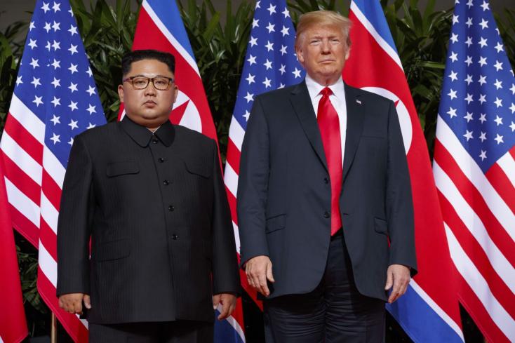 Pellegrini pusztán történelminek nevezte Trump és Kim találkozását