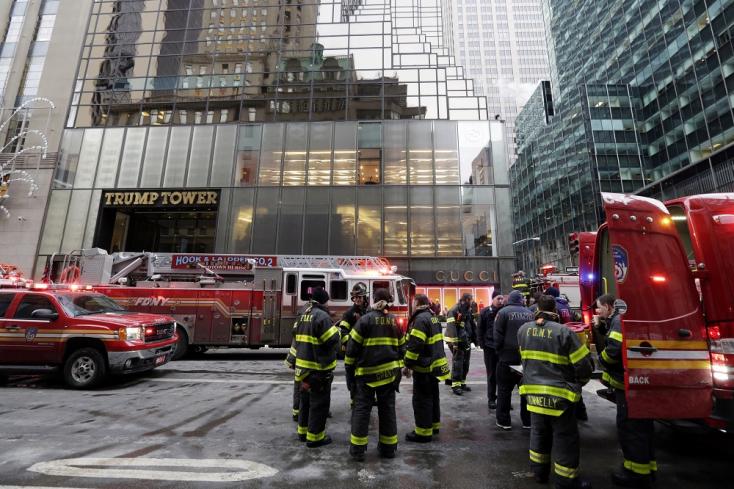 Tűz ütött ki a New York-i Trump-toronyban