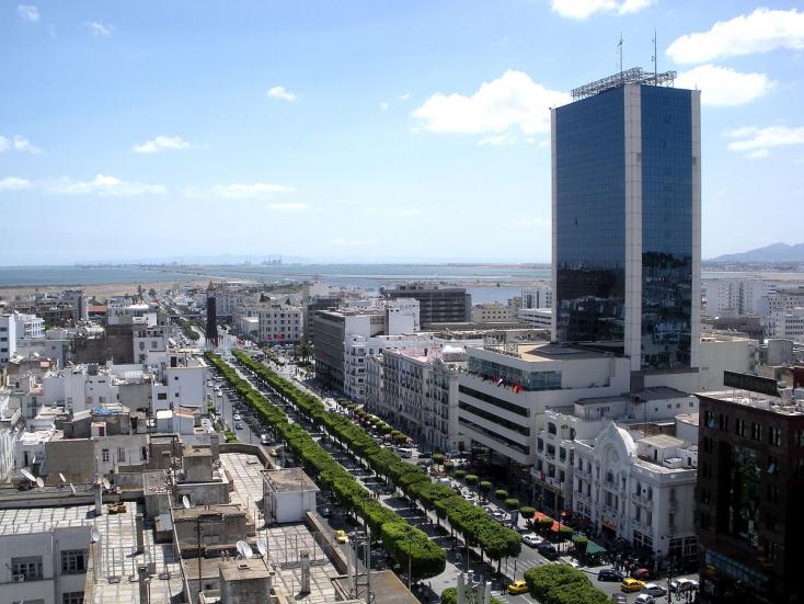 Egy nő felrobbantotta magát Tunézia fővárosában!