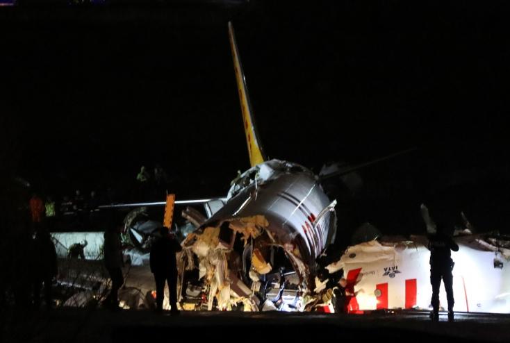 Nem sérült meg szlovák állampolgár a törökországi repülőgép-balesetben (FOTÓK)