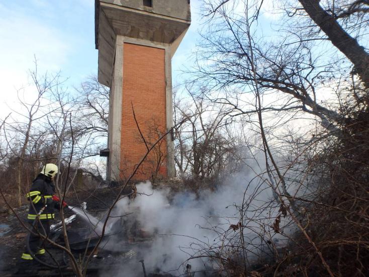 Elhagyatott épület lángolt Dunaszerdahelyen
