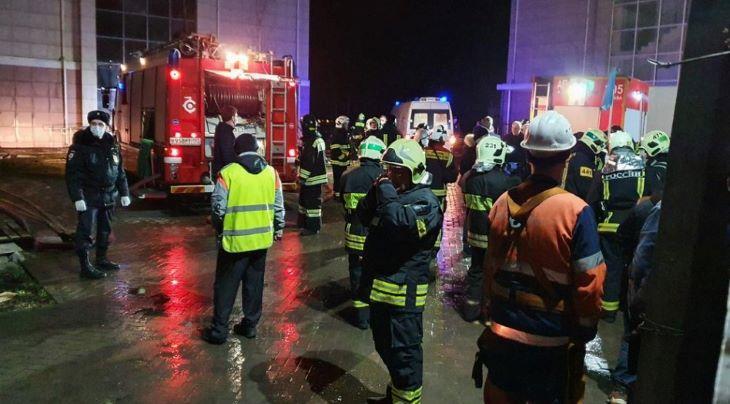 Tűz ütött ki egy Covid-betegeket ellátó kelet-ukrajnai kórházban, többen meghaltak