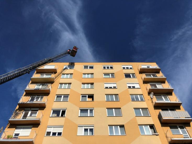 Dunaszerdahely legmagasabb pontjainak egyikét tesztelték a tűzoltók