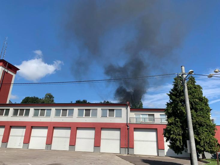 Tűz volt a dunaszerdahelyi tűzoltóságon, de nem úgy, ahogy elsőre gondolnánk!