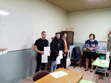 A Dunaszerdahelyi Műszaki Szakközépiskola diákja remekelt a ZENIT gépészeti versenyen