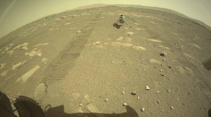 Túlélte az első Marson töltött éjszakáját az Ingenuity helikopter