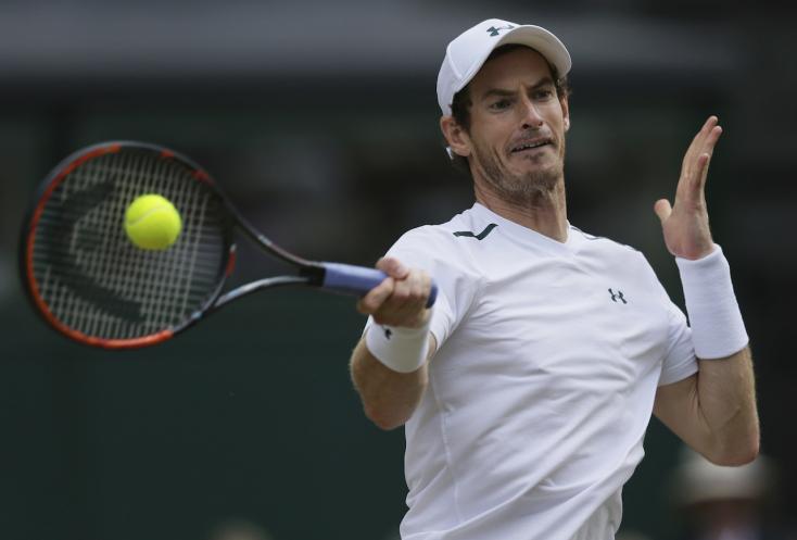 Murray jótékonysági meccsen tér vissza Federer ellen