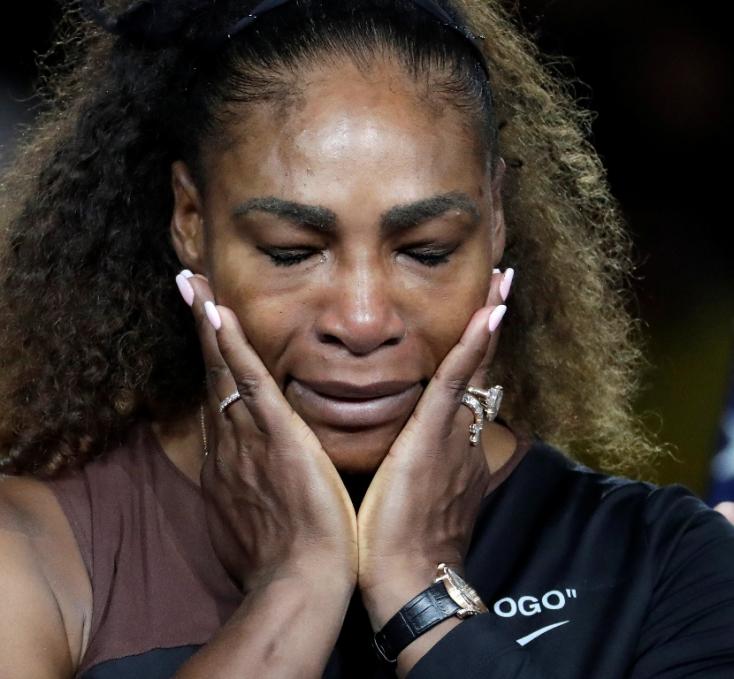 US Open: Pénzbüntetést kapott Serena Williams