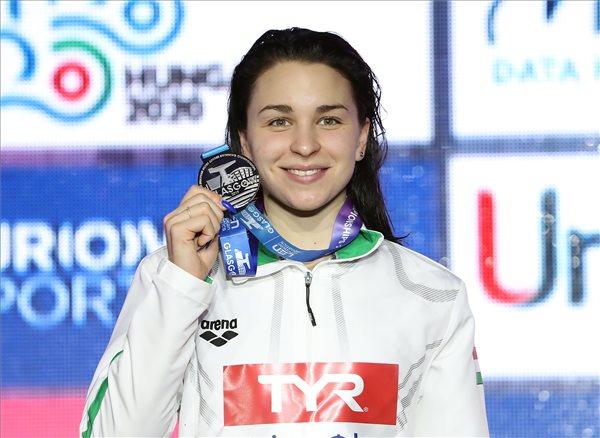 Rövidpályás úszó Európa-bajnokság - Késely ezüstérmes, Holló negyedik, Bohus újabb országos csúcsot állított fel