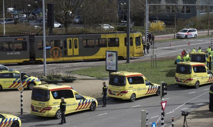 Komoly jelek utalnak arra, hogy terrortámadás történt Utrechtben