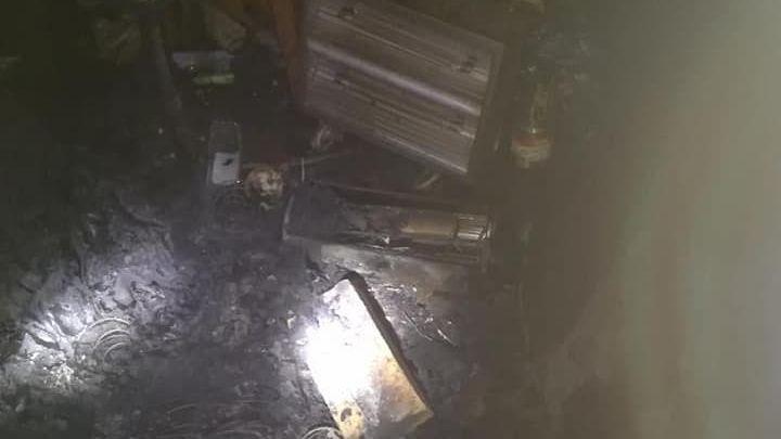 Elektromos melegítő okozhatta a tüzet, életét vesztette egy férfi az új év első napján