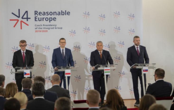 V4-csúcs - Pellegrini: Biztonsági és gazdasági szempontból is stratégiai befektetés az EU bővítése a Nyugat-Balkánnal