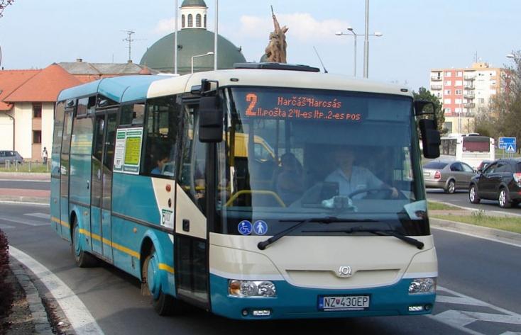 Komárom az első szlovákiai város, ahol ingyenes lesz a városi busz