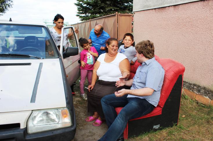 Egyre lassabban nő a roma népesség Szlovákiában