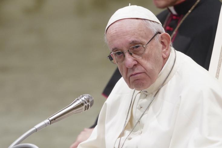 Ferenc pápa nem utazhat Irakba