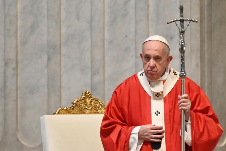 A mulandó helyett a valóban lényeges meglátására szólított fel a pápa Virágvasárnap