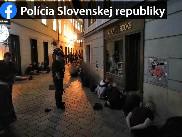 """""""Nem lehetnek mindenhol egyszerre"""" a rendőrök, ezért robbant ki a huligánok háborúja Pozsonyban"""