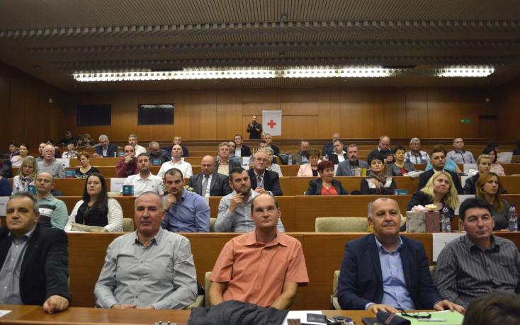 70 véradót tüntettek ki Dunaszerdahelyen