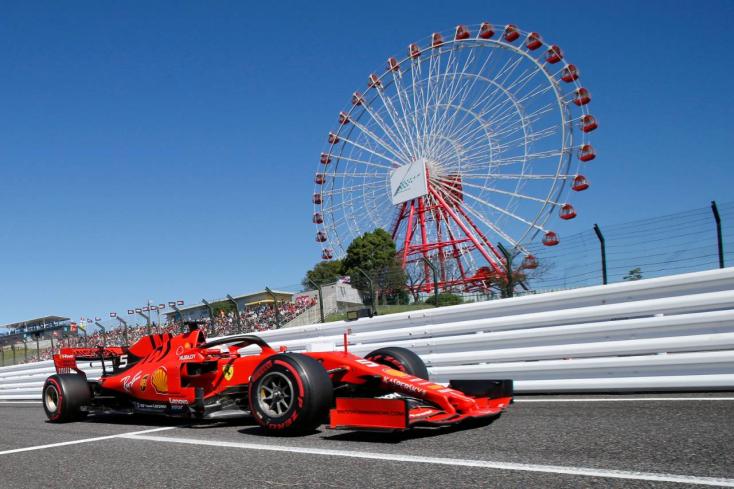 Forma-1: Vettel indul pole pozícióból a Japán Nagydíjon