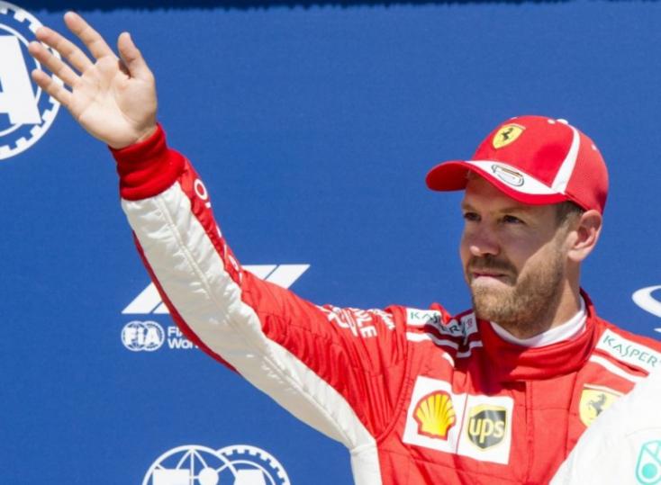 Sebastian Vettel szerint minden rendben közte és Leclerc között