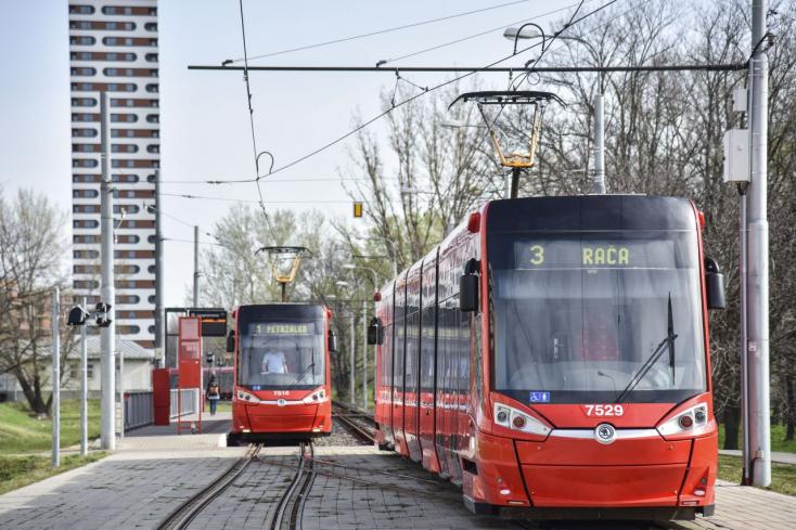 A Slovnaft mellett a jövőben villamosok járhatnak Vereknyére és Pozsonypüspökire