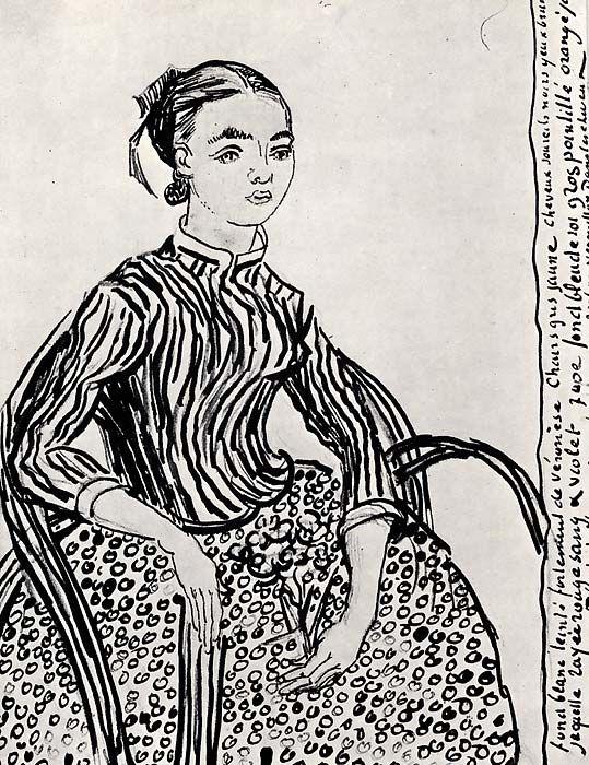 A legdrágább Van Gogh-rajz lehet a fiatal lányról készült mű