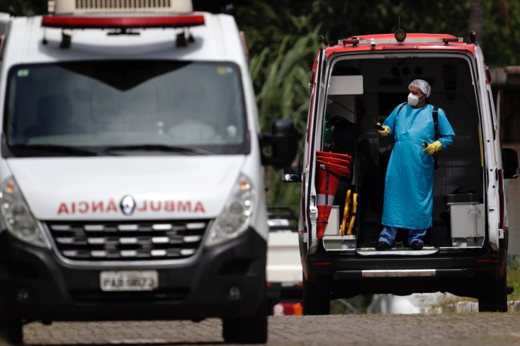 Több mintnégyezren haltak meg egyetlen nap alatt Brazíliában