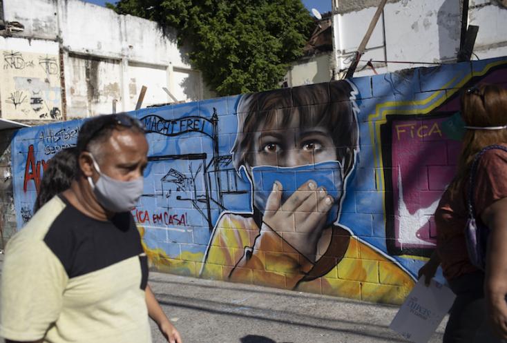 Brazília megelőzte Oroszországot, Dél-Amerika a járvány új gócpontja