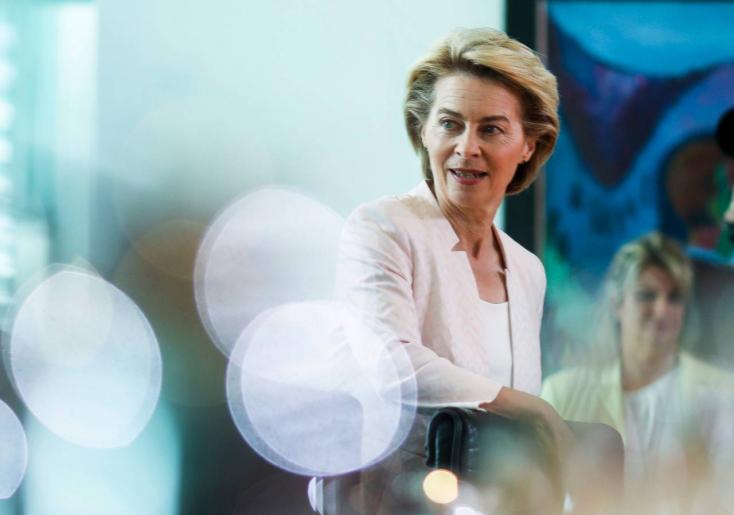 Von Der Leyen EB-elnöki jelöltsége miatt bukhat Merkel kormánya!