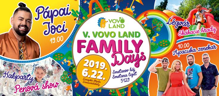 Vovo Land Family Days - A legnagyobb és legmurisabb családi nap a Csallóközben!