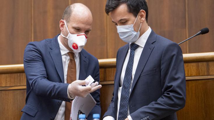 Grendel Gábort és Juraj Šeligát megválasztották parlamenti alelnöknek