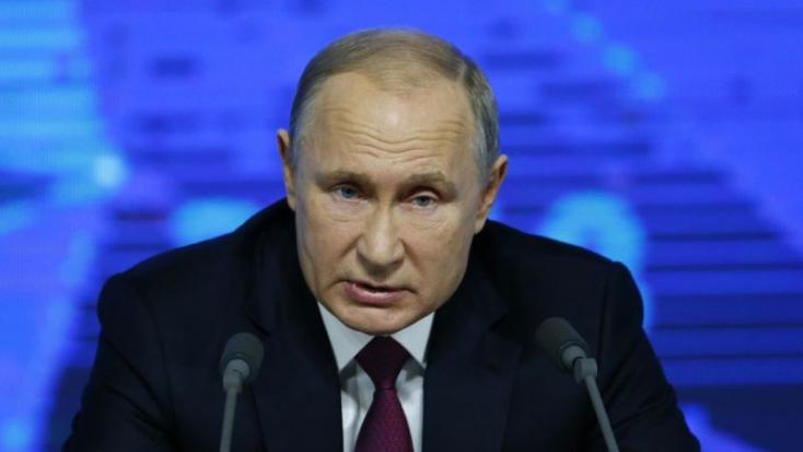 Putyin: Moszkva nem zárkózik el a tárgyalástól Kijevvel