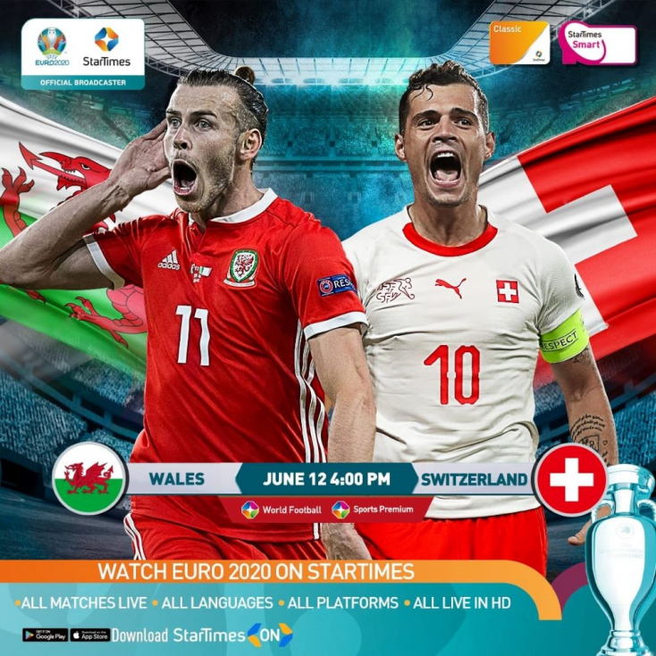 EURO-2020: WalesdöntetlenezettSvájccal