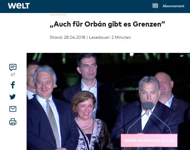 Tisztázni akar dolgokat Orbánnal az Európai Néppárt