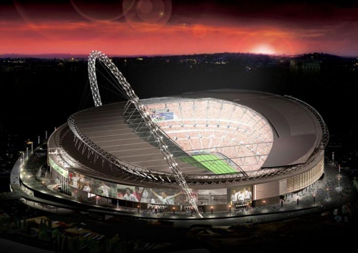 EURO-2020: Újabb riasztó eset, lezuhant a Wembley lelátójáról egy szurkoló!