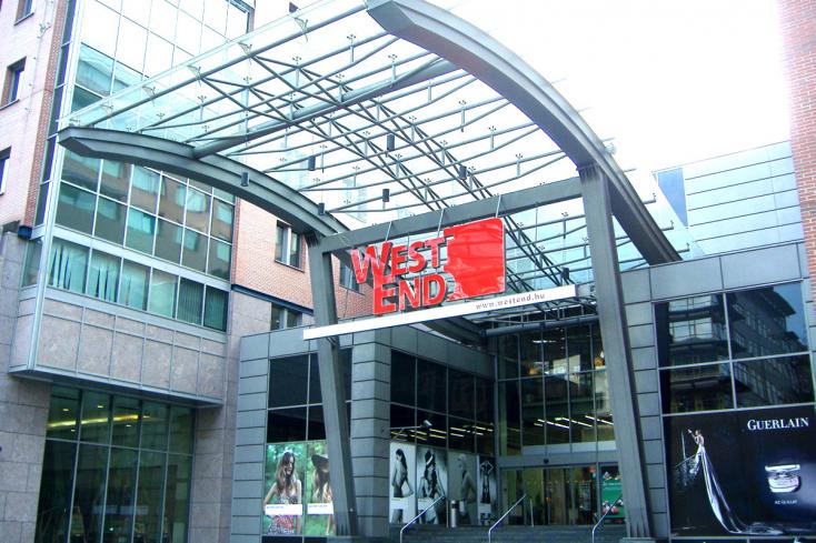 Jelentősen megújul a budapesti Westend