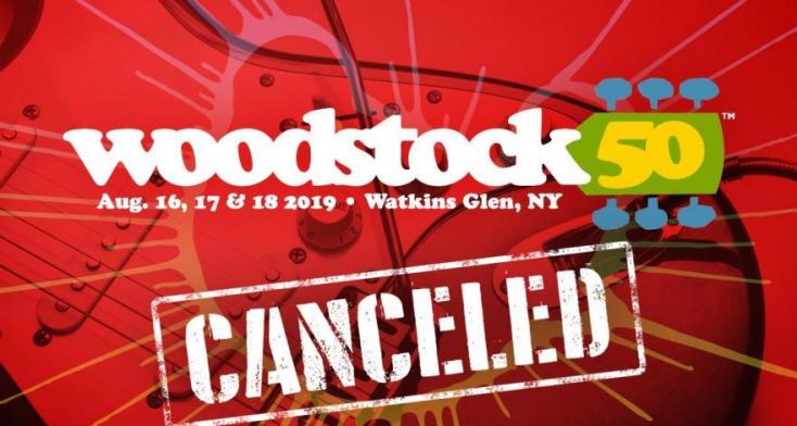 Újabb csapást szenvedtek a Woodstock 50 jubileumi fesztivál szervezői